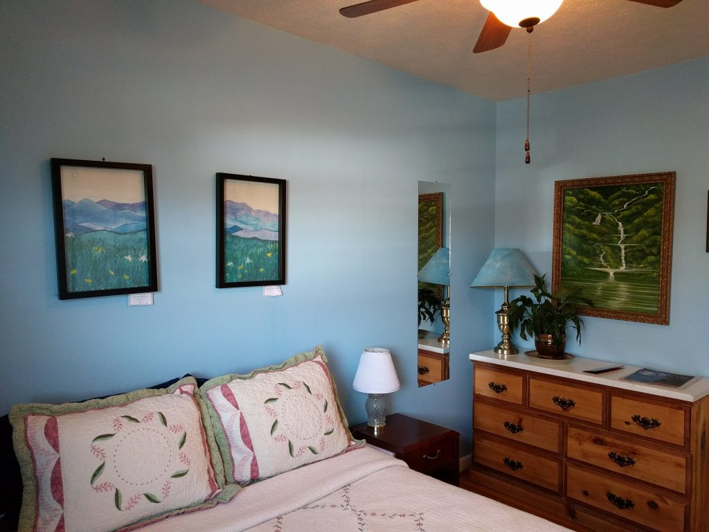 The Blue Ridge Room at Fairhaven Guesthouse